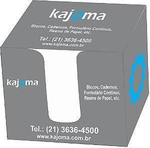 PAPEL LEMBRETE BRANCO 75MMX105MM C/1000 FOLHAS - KAJOMA