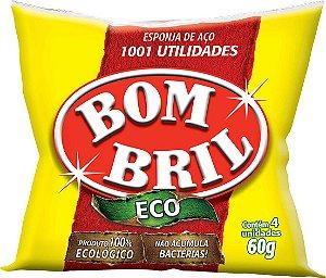 ESPONJA DE AÇO C/4 - BOM BRIL