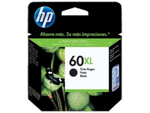 CARTUCHO HP 60XL CC641WB PRETO - 13,5ML