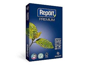 PAPEL REPORT OFÍCIO 2 216MMX330MM PREMIUM - 500 FLS