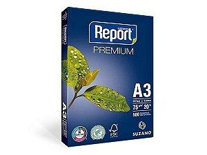 PAPEL REPORT A3 297MMX420MM PREMIUM - 500 FLS