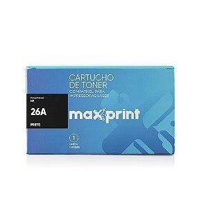 TONER COMPATÍVEL 26A CF226A PRETO - MAXPRINT
