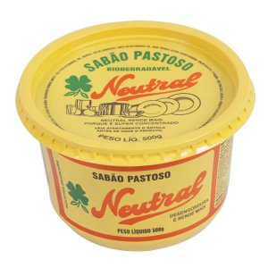 SABÃO PASTOSO NEUTRAL - 500G