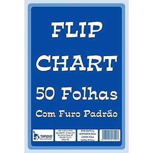 FLIP CHART COM FURO PADRÃO 50 FLS - TAMOIO