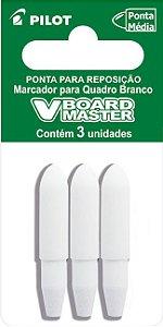 PONTA PARA REPOSIÇÃO V-BOARD MASTER C/3 - PILOT
