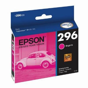 CARTUCHO EPSON T296320BR MAGENTA - 4ML