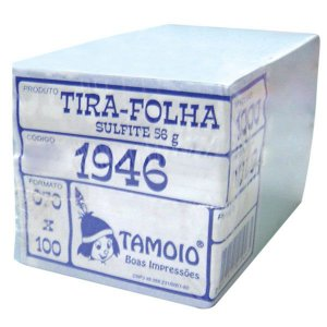 PAPEL LEMBRETE 70MMX100MM BRANCO C/1000 FLS - TAMOIO