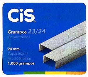 GRAMPO GALVANIZADO 23/24 C/1000 UNIDADES - CIS