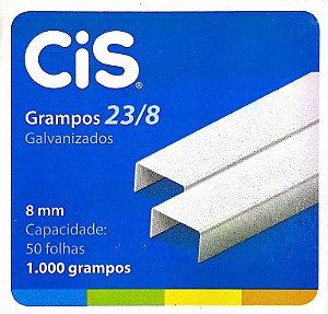 GRAMPO GALVANIZADO 23/8 C/1000 UNIDADES - CIS