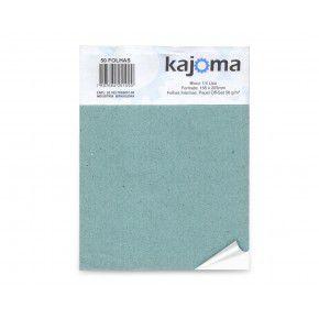 BLOCO 1/4 LISO 100 FLS - KAJOMA