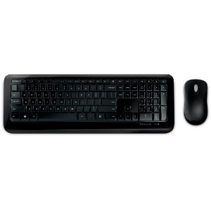 KIT WIRELESS DESKTOP 850 (TECLADO/MOUSE) PY9-00021 PRETO - MICROSOFT