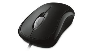 MOUSE OPTICO USB P58-00061 PRETO - MICROSOFT