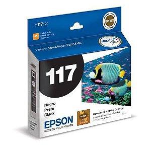 CARTUCHO EPSON T117120BR PRETO - 5ML