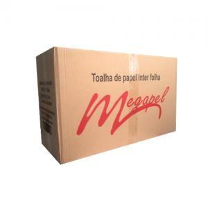 PAPEL TOALHA INTERFOLHAS 21X23 EXTRA LUXO C/4800 FLS - MEGAPEL