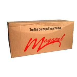 PAPEL TOALHA INTERFOLHAS 20X21 BRANCO C/2000 FLS - MEGAPEL