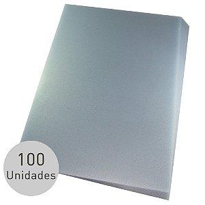 CAPA DE PVC A4 FOSCA C/100 UNIDADES - LASSANE