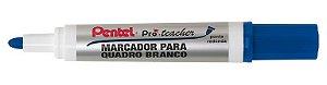 MARCADOR PARA QUADRO BRANCO MW95 PRÓ TEACHER AZUL - PENTEL