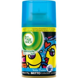 BOM AR AIR WICK FRESHMATIC REFIL VIDA FRESCA - 250ML
