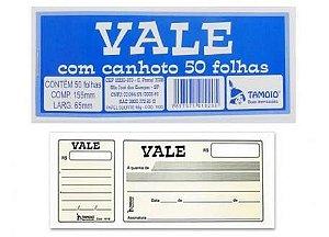 VALE COM CANHOTO C/50 FLS - TAMOIO