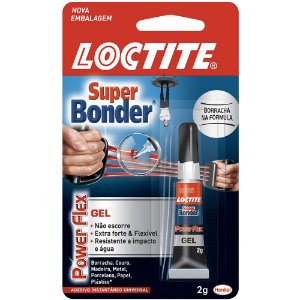 SUPER BONDER POWER FLEX GEL 2G - LOCTITE