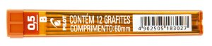 GRAFITE 0.5MM B C/12 GRAFITES - PILOT