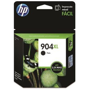 CARTUCHO HP 904XL T6M16AB PRETO - 21,5ML