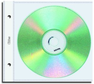 PROTETOR DE CD INDIVIDUAL PP 2 FUROS 1700-5 C/10 UNIDADES - CHIES