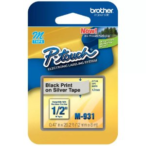 FITA PARA ROTULADOR 12MMX8M M-931 - BROTHER
