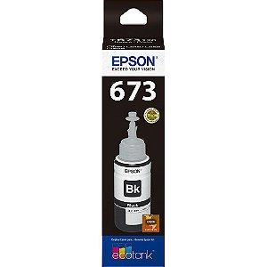GARRAFA DE TINTA EPSON T673120-AL PRETO - 70ML