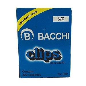 CLIPS  Nº 3/0 AÇO GALVANIZADO C/420 UNIDADES - BACCHI