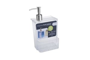 DISPENSER MULTI GLASS 600ML CRISTAL - COZA