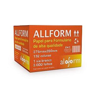 FORMULÁRIO CONTÍNUO 132 COL. 1 VIA C/3000 FLS - ALOFORM