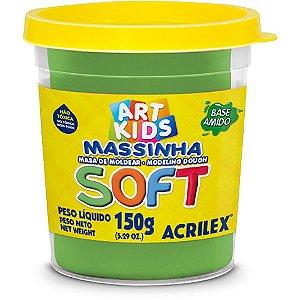 MASSINHA DE MODELAR SOFT 150G VERDE - ACRILEX