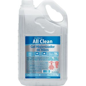 ÁLCOOL GEL 70º ALL CLEAN AUDAX - 5L