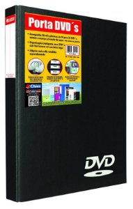 PORTA DVD PRETO C/20 REFIS - CHIES
