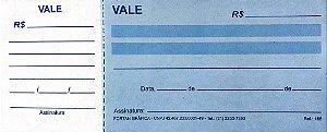 VALE COM CANHOTO C/50 FLS - FORTAN