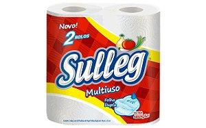 TOALHA DE PAPEL MULTIUSO C/2 ROLOS - SULLEG