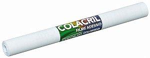 FILME ADESIVO PREMIUM BRANCO 45CMX10M - COLACRIL