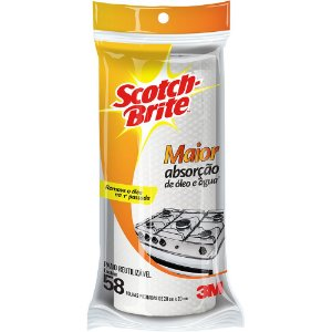 PANO REUTILIZÁVEL SCOTCH-BRITE - 3M