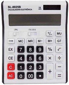 CALCULADORA ELETRÔNICA SL-8825B 12 DÍGITOS - SOLIDER