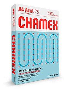 PAPEL CHAMEX COLORS A4 75 210MMX297MM AZUL - 500 FLS