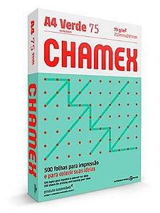PAPEL CHAMEX COLORS A4 75 210MMX297MM VERDE - 500 FLS