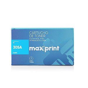 TONER COMPATÍVEL 305A CE411A CIANO - MAXPRINT