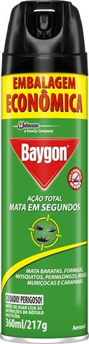 INSETICIDA BAYGON AÇÃO TOTAL - 360ML