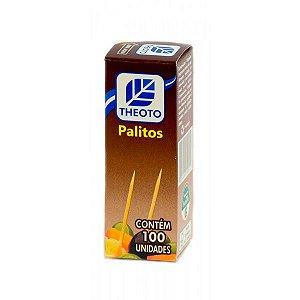 PALITO DE DENTE C/100 UNIDADES - THEOTO