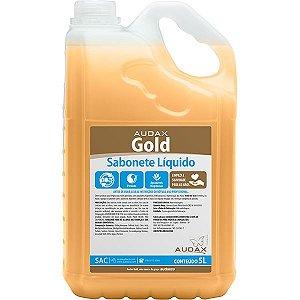 SABONETE LÍQUIDO GOLD PÊSSEGO AUDAX - 5L