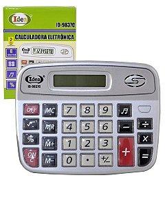 CALCULADORA ELETRÔNICA ID-9837C 8 DÍGITOS - IDEA