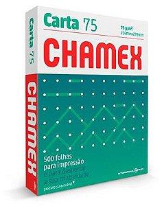 PAPEL CHAMEX CARTA 75 216MMX279MM BRANCO - 500 FLS