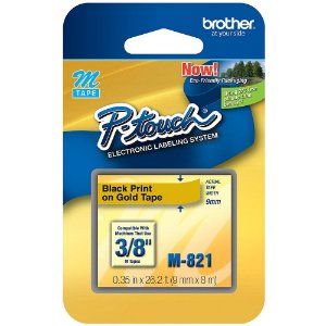FITA PARA ROTULADOR 9MMX8M M-821 - BROTHER
