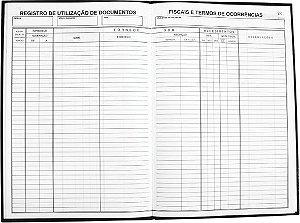 LIVRO MOD 6 TERMO DE OCORRÊNCIA C/50 FLS - TAMOIO